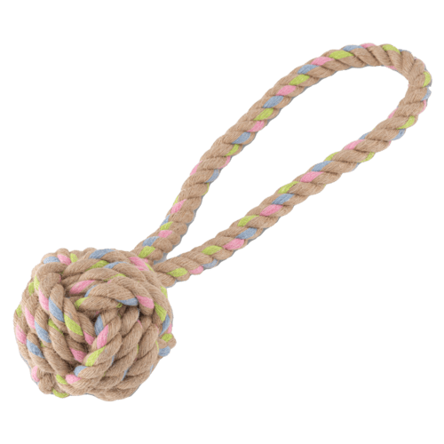 Beco Hemp Rope Ball on Loop