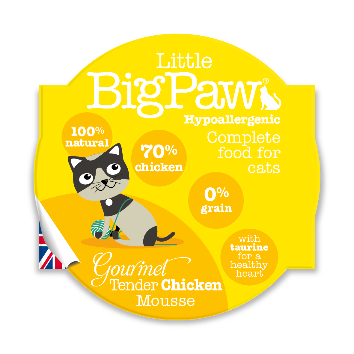 Little Big Paw - Tender Chicken (CAT) - 85 Grams