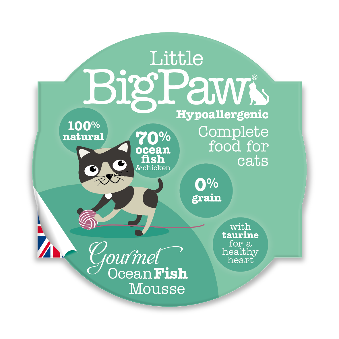 Little Big Paw - Ocean Fish (CAT) - 85 Grams