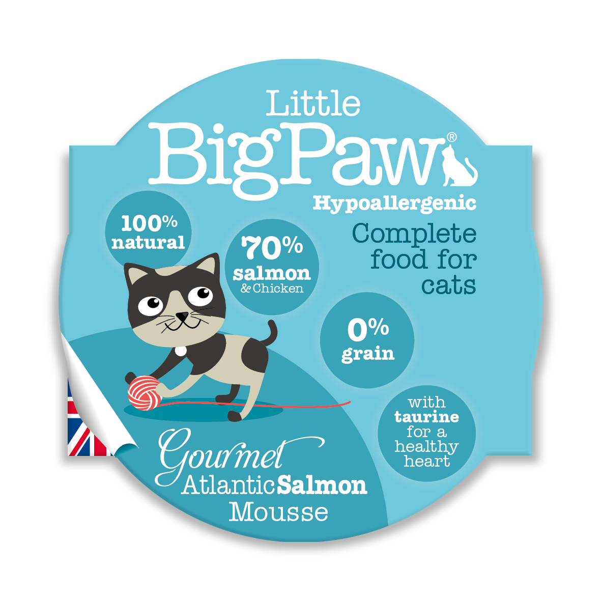 Little Big Paw - Atlantic Salmon (CAT) - 85 Grams