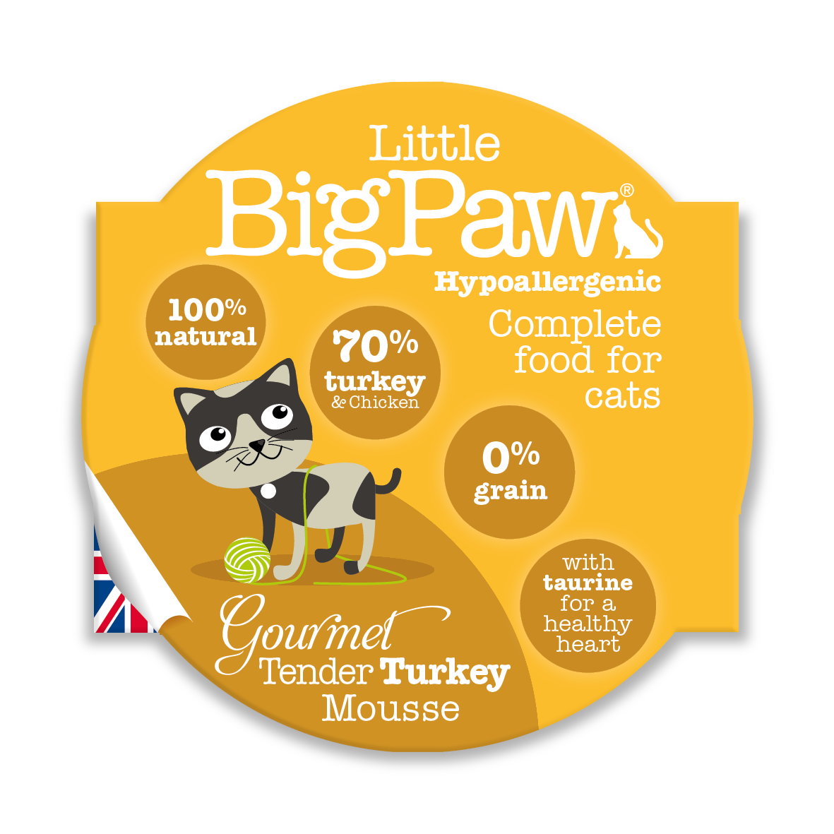 Little Big Paw - Tender Turkey (CAT) - 85 Grams