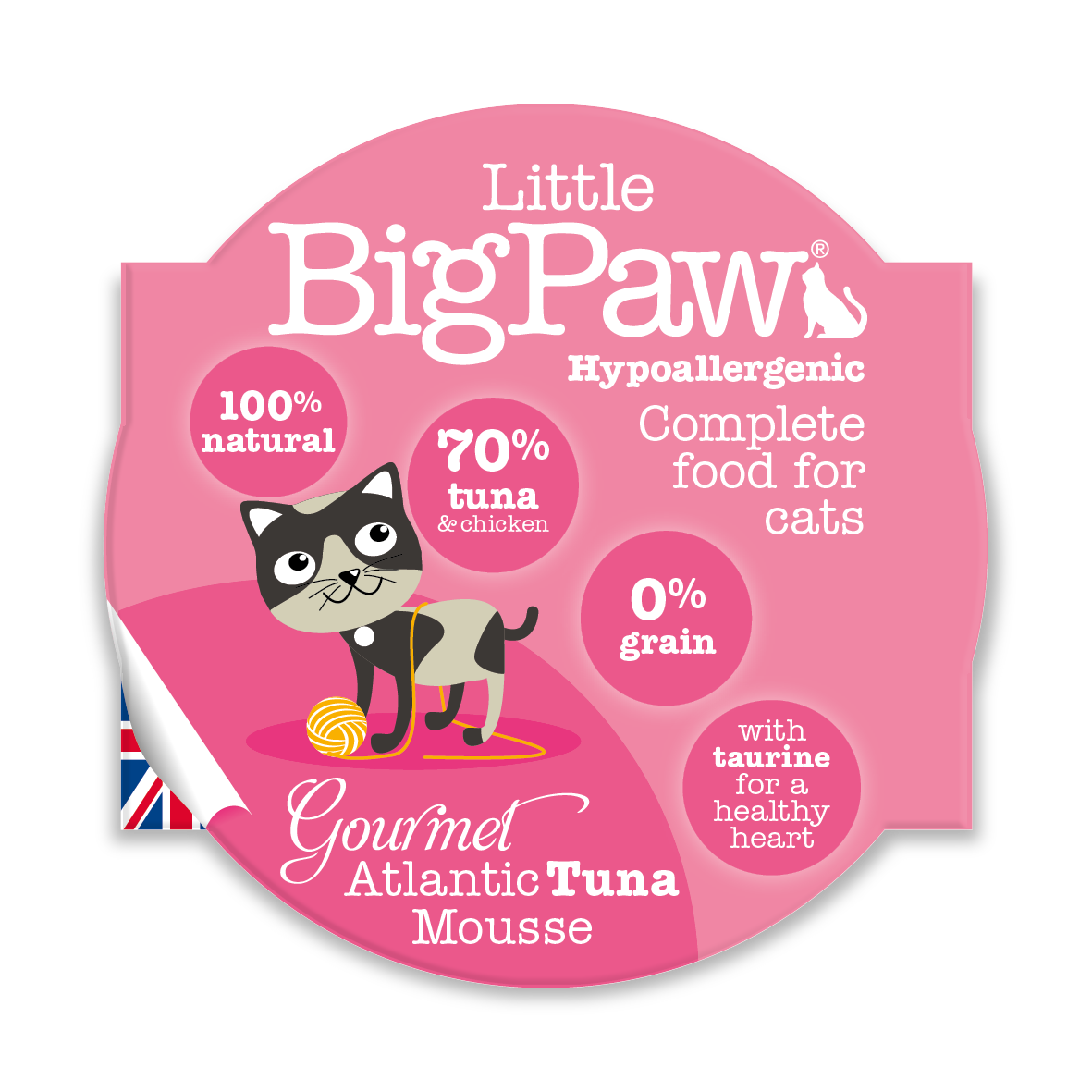 Little Big Paw - Atlantic Tuna (CAT) - 85 Grams
