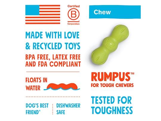 Zogoflex Rumpus Chew Toy