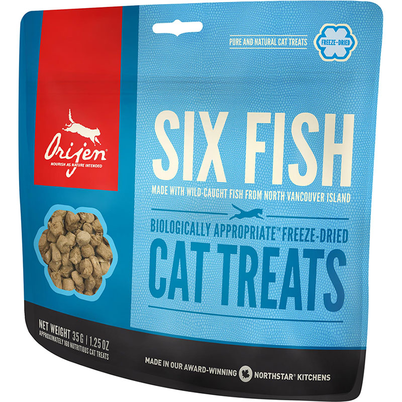 Orijen FD Cat Treat Six Fish